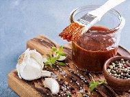 Рецепта Марината за свински ребра с горчица на барбекю/скара